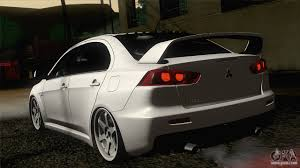 2014 Mitsubishi Lancer Evolution X Mitsubishi Lancer X Evolution For Gta San Andreas