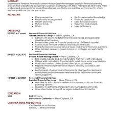 financial resume 8 amazing finance resume exles livecareer resume template