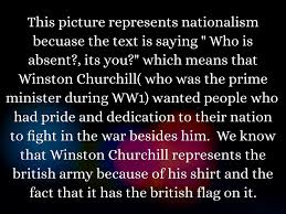 British Flag Ww1 Nationalism By Alaina Wittner
