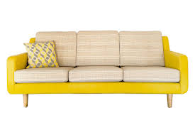 Leather Sofa Perth by Evelyn Mid Century Retro Fabric U0026 Leather Couch Bespoke