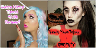 vampire makeup tutorial international giveaway collab with