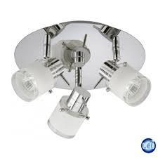 Bad Lampe Deckenlampe Deckenleuchten Badleuchte Ip20 Inkl Gu10 Halogen 4x35