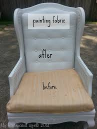 Painting Fabric Upholstery Splendid Design Painting Fabric Furniture Delightful Tutorial How