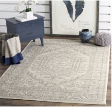 prime day deal safavieh ivory and silver area rug 8 u0027 x 10