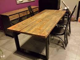 table cuisine en bois table de cuisine en bois trendy table de cuisine ikea en verre