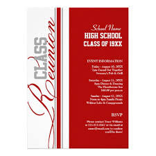 high school class reunion invitations customizable class reunion invitations high school reunion