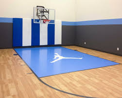 stunning indoor home basketball court pictures decoration design