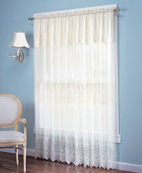 Lace Curtain No 918 Lace Curtain Panel With Attached Valance Collection