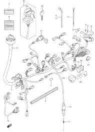 2007 suzuki king quad 700 lt a700x wiring harness parts best oem