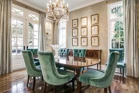 chaise pour salle manger chaises de salle manger en velours une invitation confortable à l