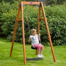 baby swing swing set robust wooden swing frame for the garden swing seats can be