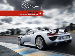 video record du tour porsche 918 spyder au mans