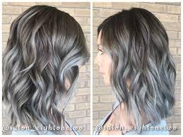 trendy grey hair balayage red hair fall hair blonde hair highlights grey hair