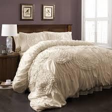 Bedroom Designs With Hardwood Floors Bedroom Awesome White Ruffle Bedding For Elegant Bedroom Design