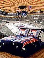 hockey bedrooms would have to do washington capitals colors though i guess i