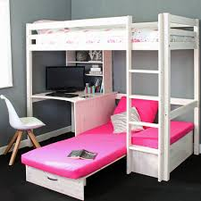 High Sleeper Beds With Sofa Thuka Hit 7 High Sleeper Bed With Sofa Bed Desk Family Window