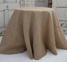 burlap tablecloths hessian ships 1 day or square