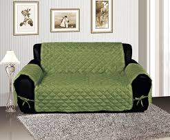 Quilted Sofa Covers Sage Quilted Micro Suede Pet Dog Couch Sofa Cover Protector Throw