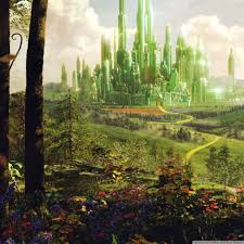 Oz The Great And Powerful Land Of Oz Hd Desktop Wallpaper High