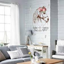 horse head flower quote wall sticker mural art decal vinyl diy
