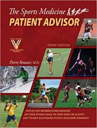 sports photo albums the sports medicine patient advisor third edition 9780984303106