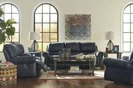 Gray Recliner Sofa Milhaven Navy Reclining Sofa From Coleman Furniture