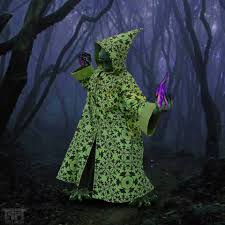 costume wizard robe psychedelic wizard robe customise your own silk screen printed