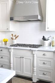 cabinets painted with divine white from sherwin williams gorgeous