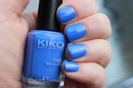 kiko nail polish shade 385 pastel blue photos review lovely