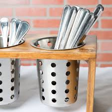 stainless steel flatware cylinder image preview