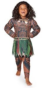 disney moana maui the rock halloween costume