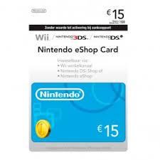 nintendo eshop gift card nintendo eshop 15 gift card europe kingaims