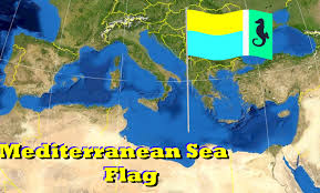 Map Mediterranean The Voice Of Vexillology Flags U0026 Heraldry Flag Of The