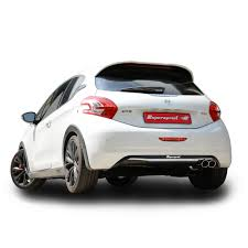 peugeot 208 gti inside performance sport exhaust for 208 gti 30th anniversary peugeot