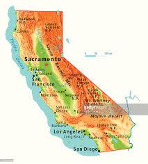 Joshua Tree California Map California Relief Map Vector Art Getty Images