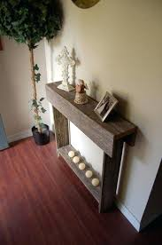 diy entryway table plans modern makeover and decorations ideas diy console table console diy