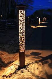 Contemporary Outdoor Lighting Outdoor Lighting Perspectives For A Contemporary Landscape With A