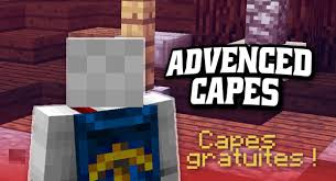 advanced capes mod 1 12 1 11 2 free minecraft capes 9minecraft net