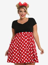 disney minnie mouse polka dot dress plus size her universe