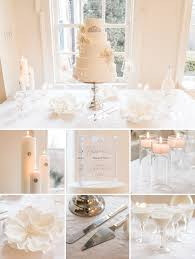 Winter Decorations For Wedding - get the look cake table decorating 101 the details
