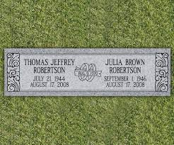 flat headstones for floral flat grave markers search headstones