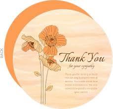 thank you for sympathy card sympathy thank you cards thank you for sympathy card