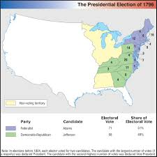 1860 Election Map by Us History Maps