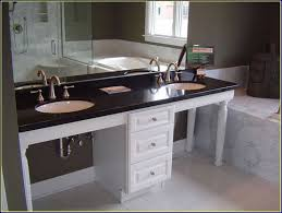 Bathroom Vanity Dimensions by Narrow Depth Double Vanity Bathroom Narrow Depth Double Vanity