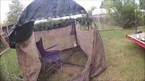 Pop Up Hunting Blinds My Diy Pop Up Hunting Blind Youtube