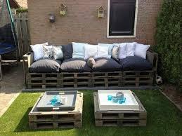 créer canapé faire un salon de jardin en palette grand canapé jardin en