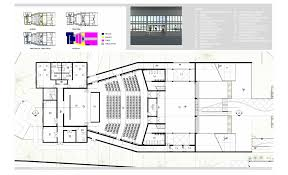 theater floor plan nassau community cultural center randy seraphin archinect