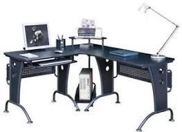 black corner computer desk corner office desk office furniture ebay