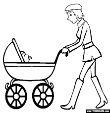 baby online coloring pages page 1