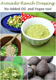no added oil avocado ranch dressing